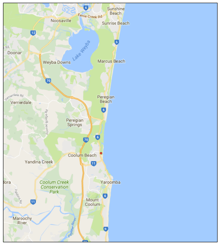 Google Map Tile Example